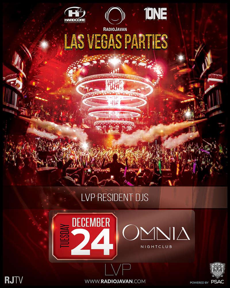 OMNIA - Radio Javan Christmas Las Vegas Party