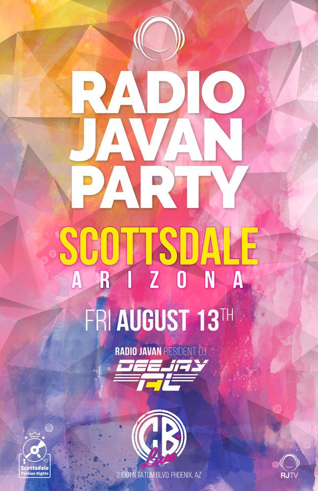 Radio Javan Party in Arizona