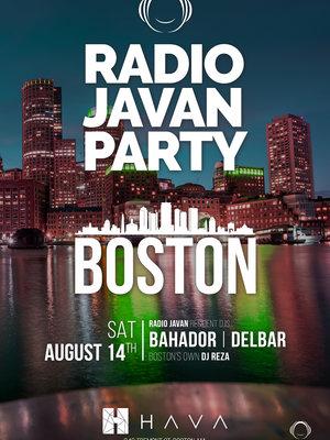 Radio Javan Party in Boston