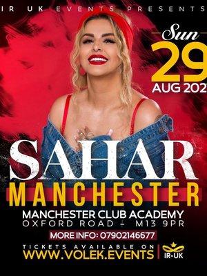 Sahar Live in Concert