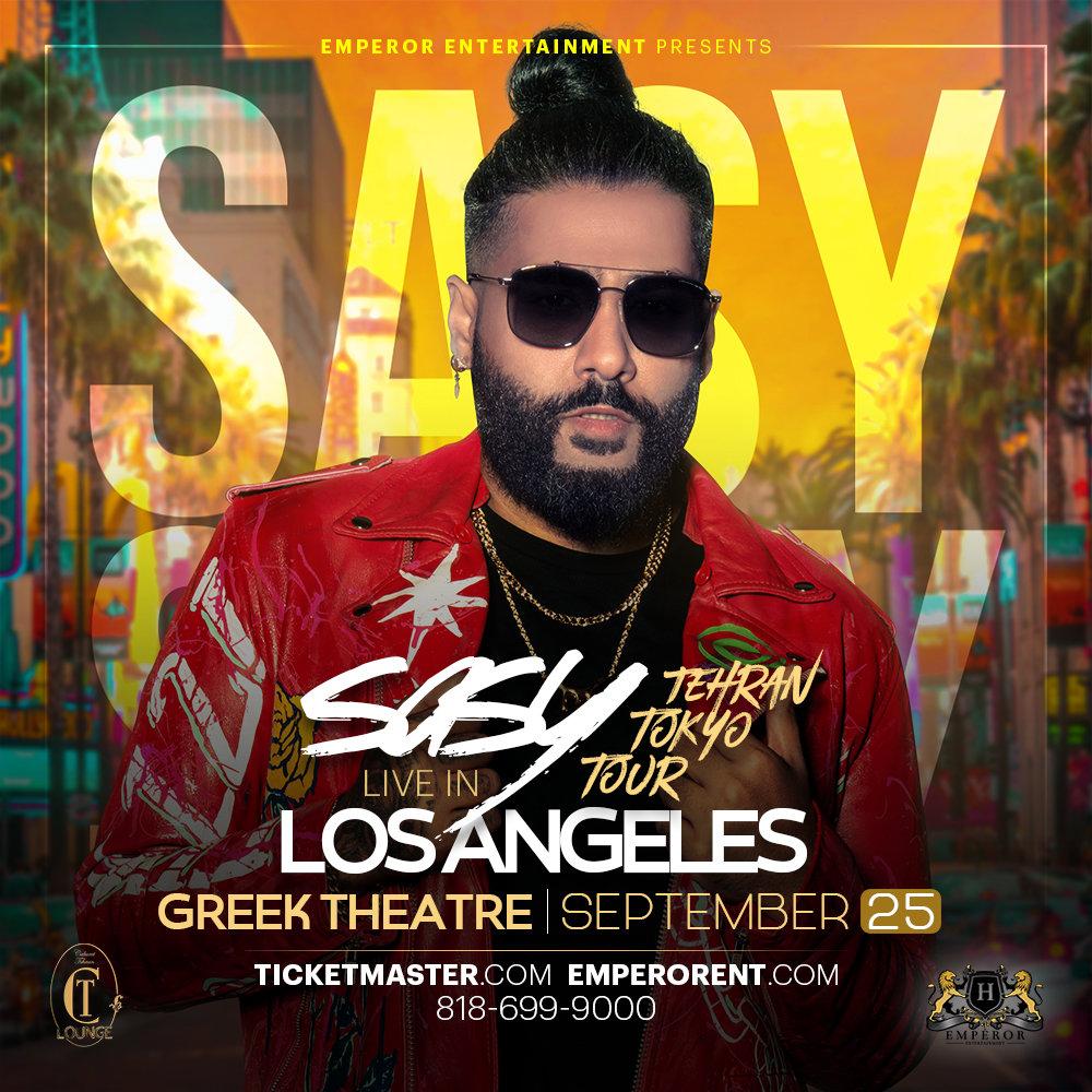 Sasy Live in Los Angeles