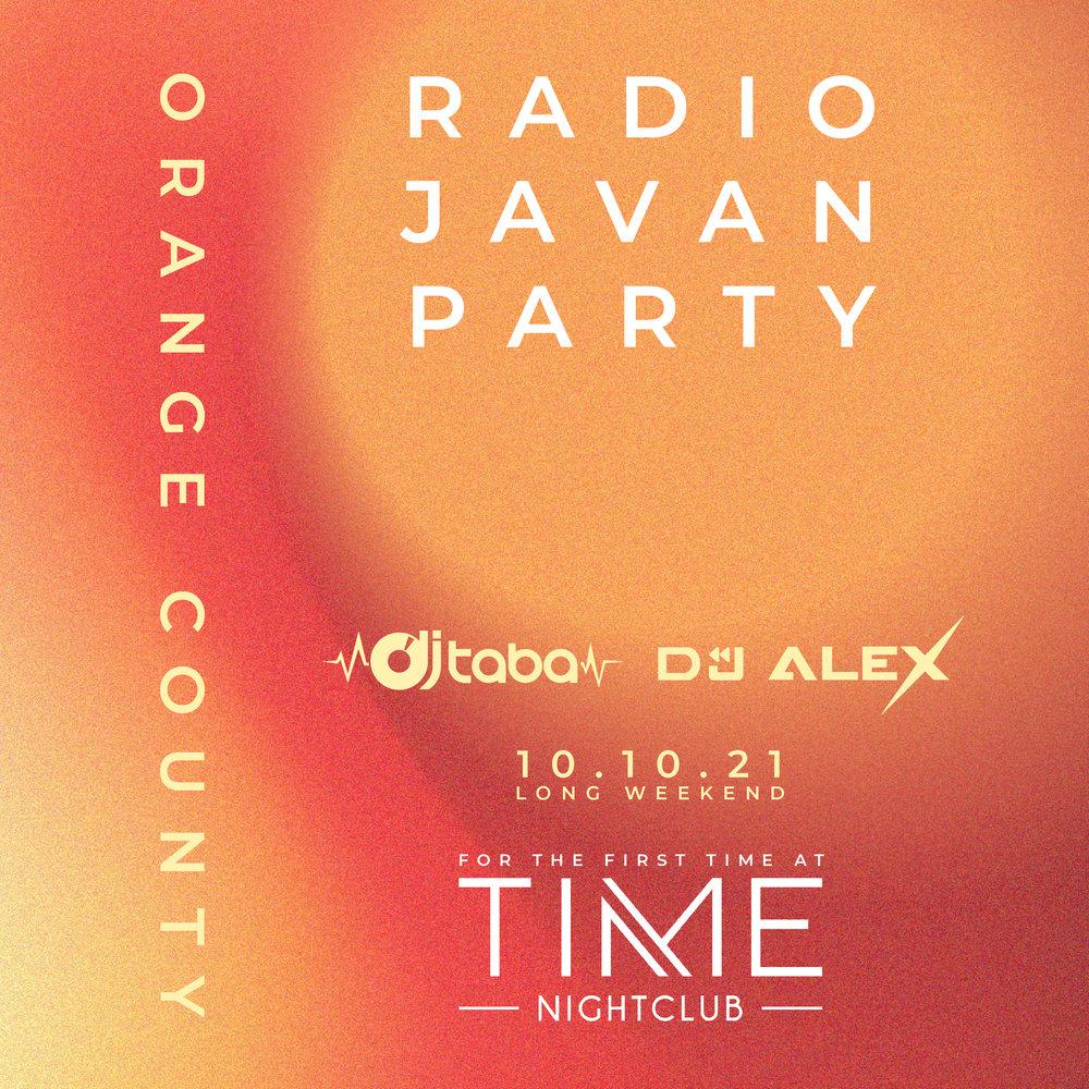Radio Javan Party in Orange County