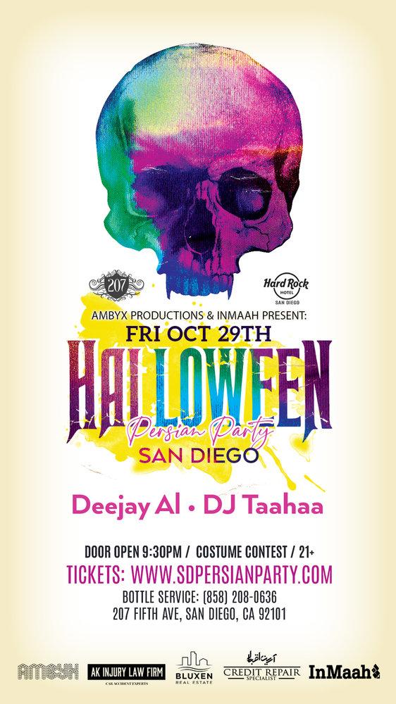 San Diego Halloween Persian Party