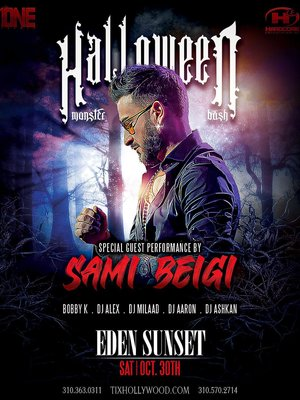 Halloween Party in Los Angeles With Sami Beigi
