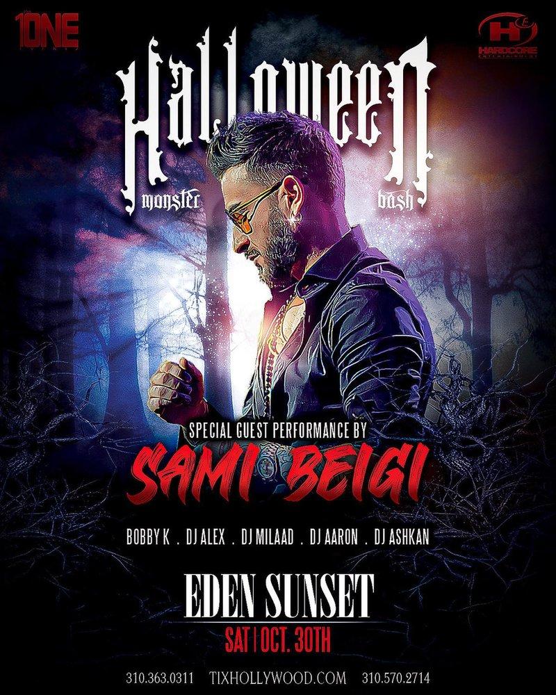 Halloween Party in Los Angeles feat SAMI BEIGI