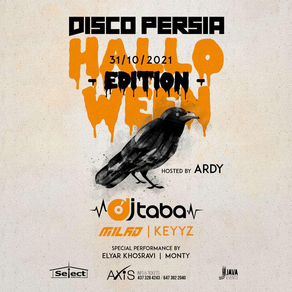 Disco Persia Halloween Edition