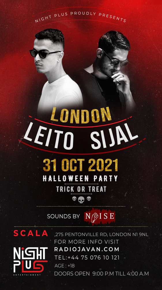 Behzad Leito & Sijal Live in London