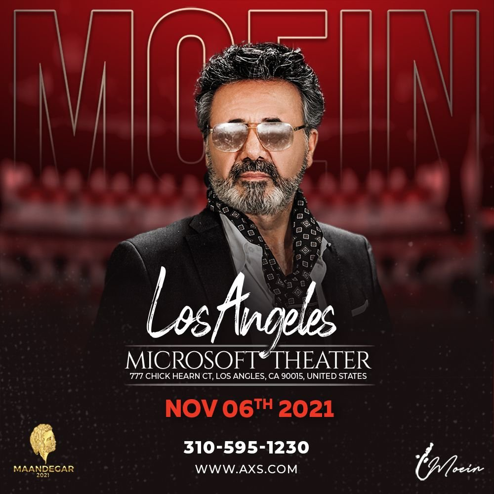 Moein Live In Los Angeles