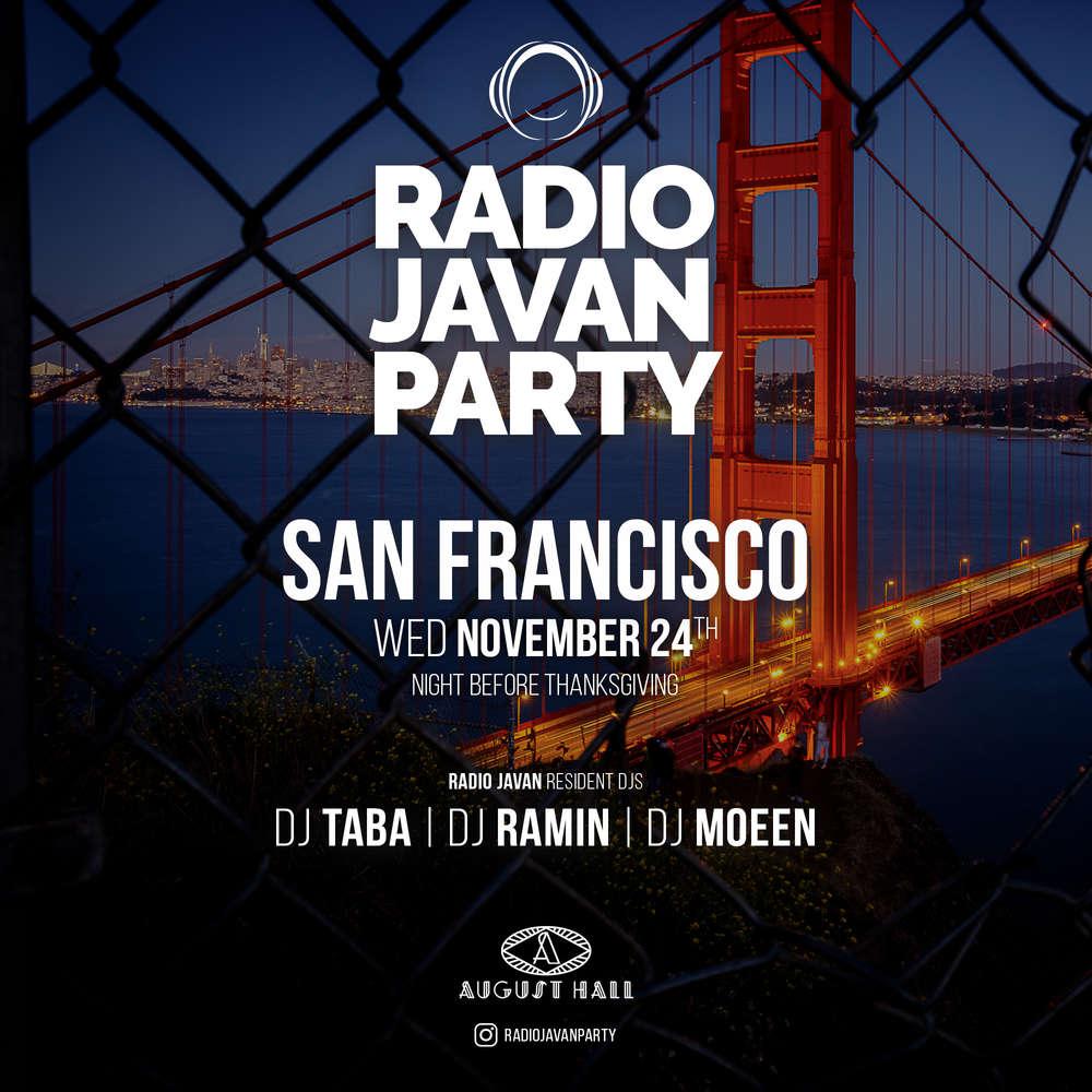 Radio Javan Party in San Francisco
