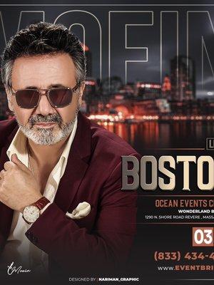 Moein Live in Boston