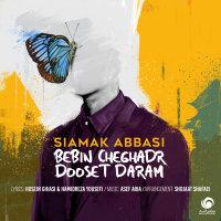 Siamak Abbasi - 'Bebin Cheghadr Dooset Daram'