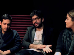 Alireza JJ, Sijal, Nassim - Tehran Times Interview